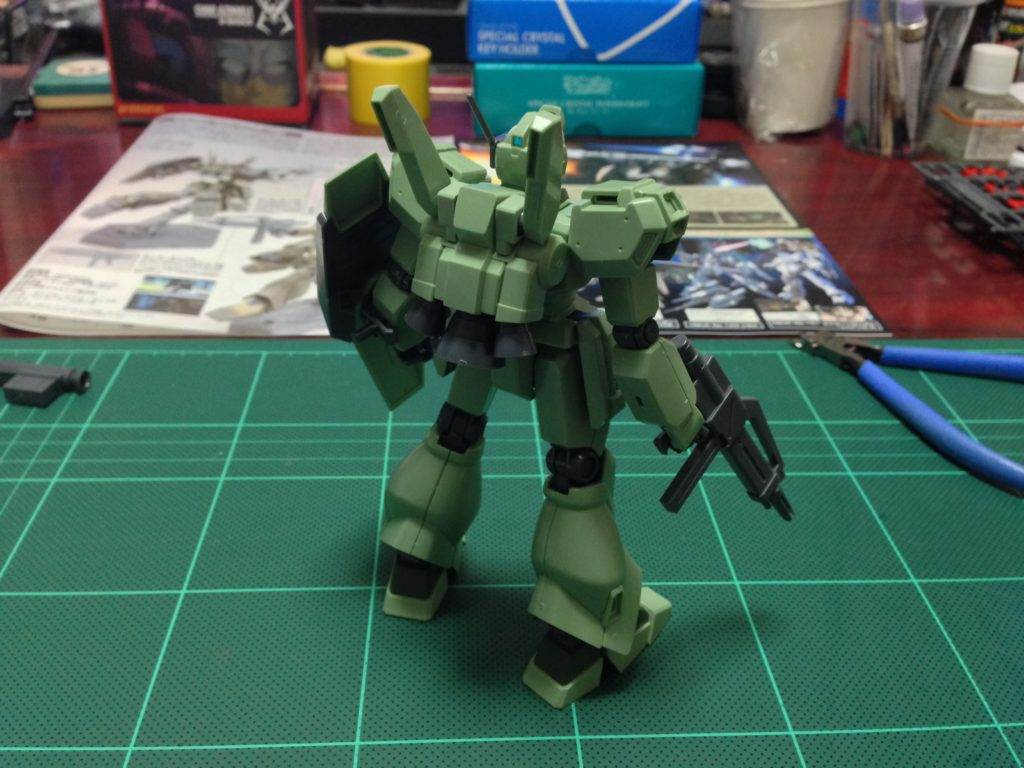 HGUC 1/144 RGM-89D ジェガンD型 [Jegan D Type] 背面