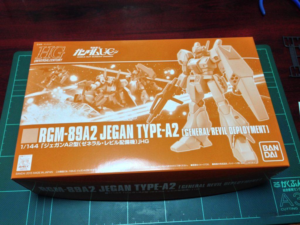 HGUC 1/144 RGM-89A2 ジェガンA2型(ゼネラル・レビル配備機) [Jegan Type-A2 (Genral Revil Deployment)] パッケージ