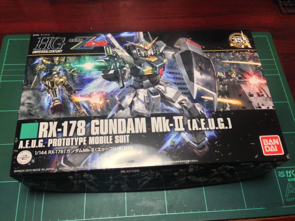 HGUC REVIVE 1/144 ガンダムMk-2(エゥーゴ仕様) [Gundam Mk-II (A.E.U.G.)] パッケージ