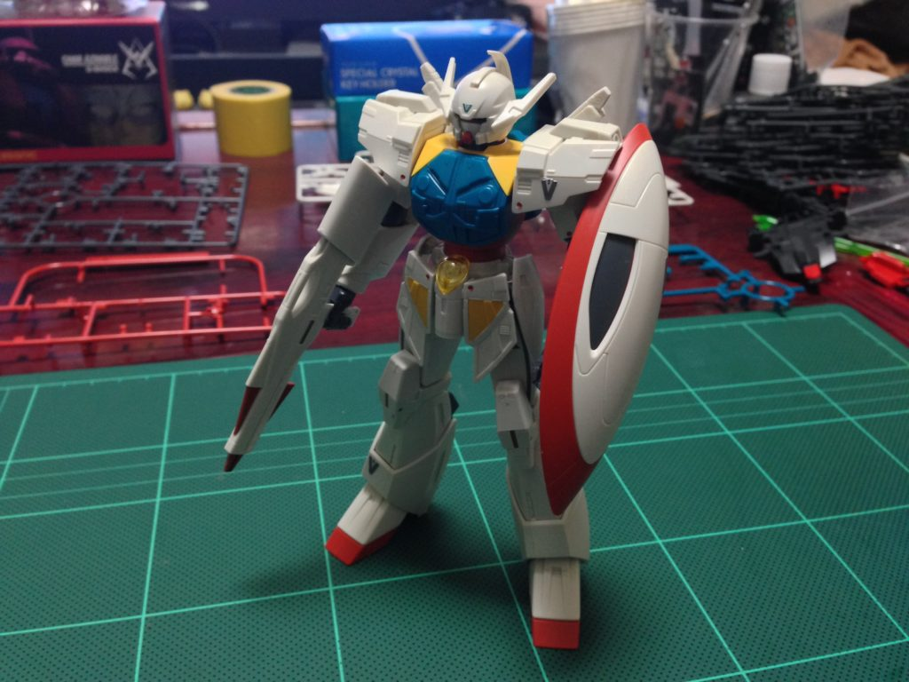 HGBF 1/144 WD-M01MS ターンエーガンダムシン 正面