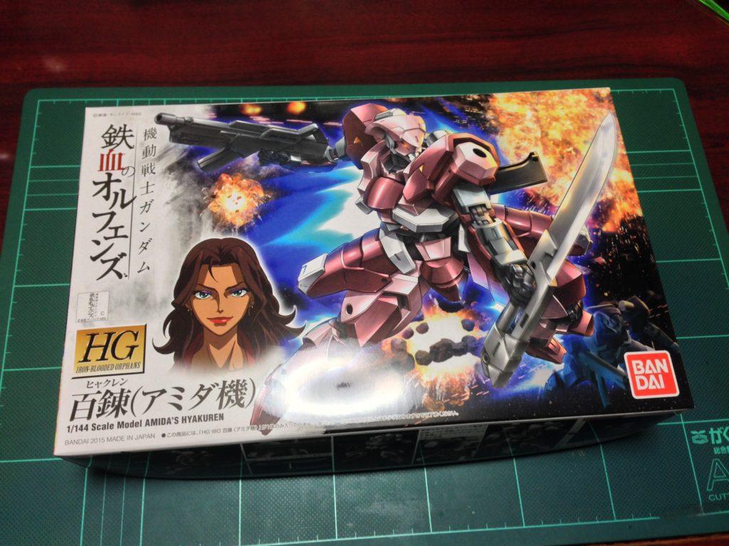 HG 1/144 STH-05/AC 百錬(アミダ機) [Amida's Hyakuren] パッケージ