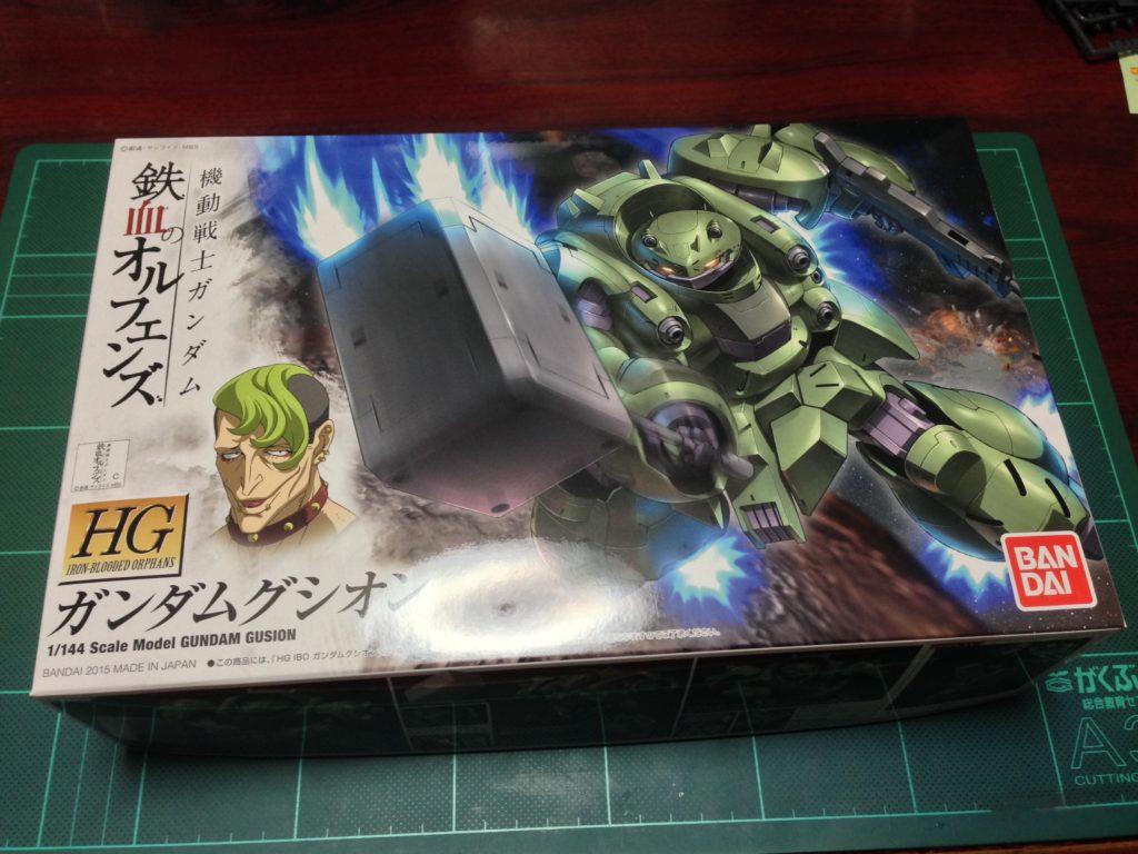 HG 1/144 ASW-G-11 ガンダムグシオン [Gundam Gusion] パッケージ