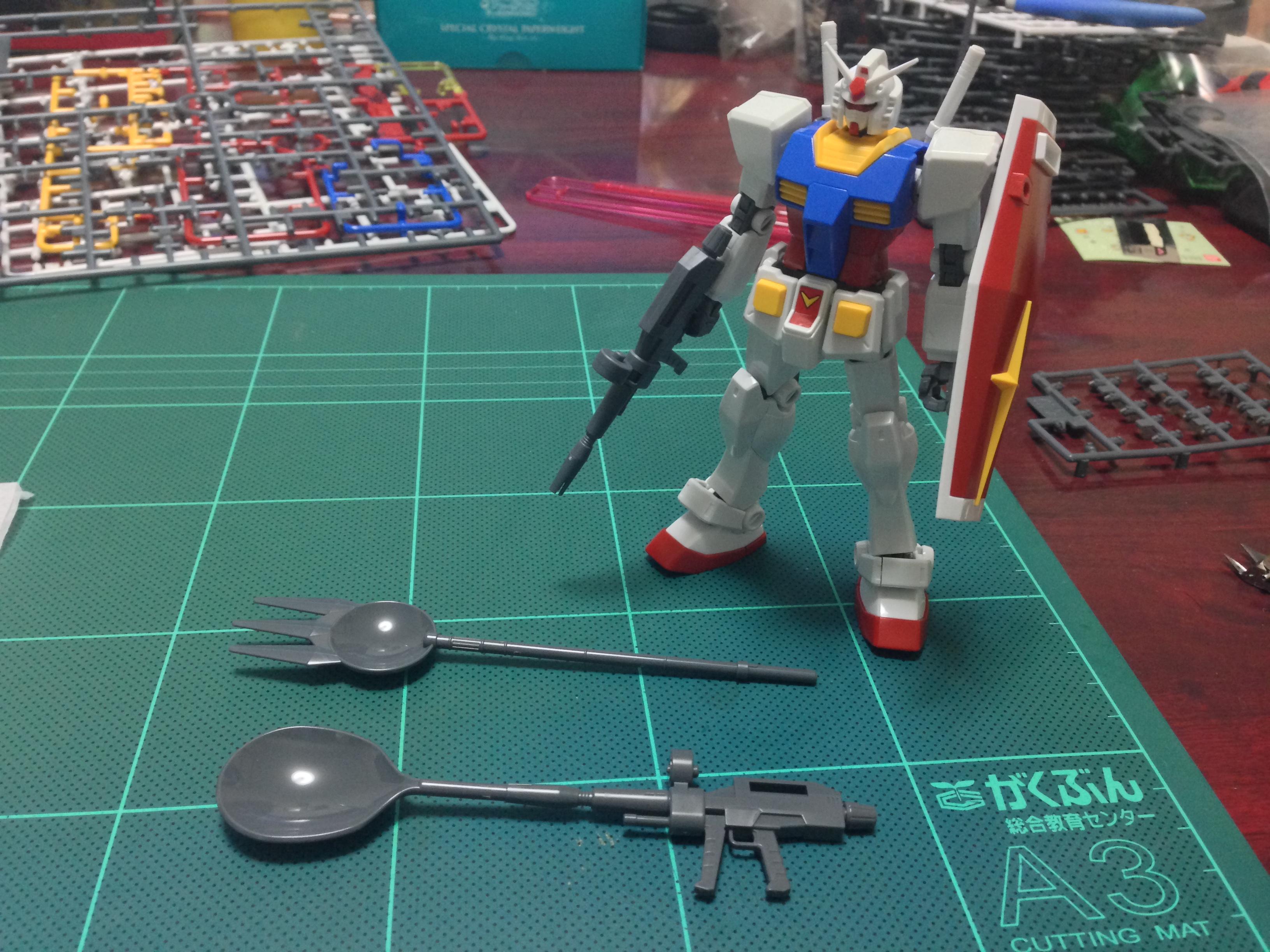 HGUC REVIVE RX-78-2 ガンダム Ver. Gunpla Cake Special Mission