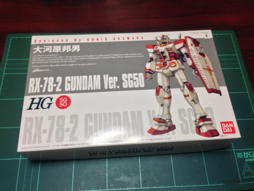 HG 1/144 RX-78-2 GUNDAM Ver. SG50