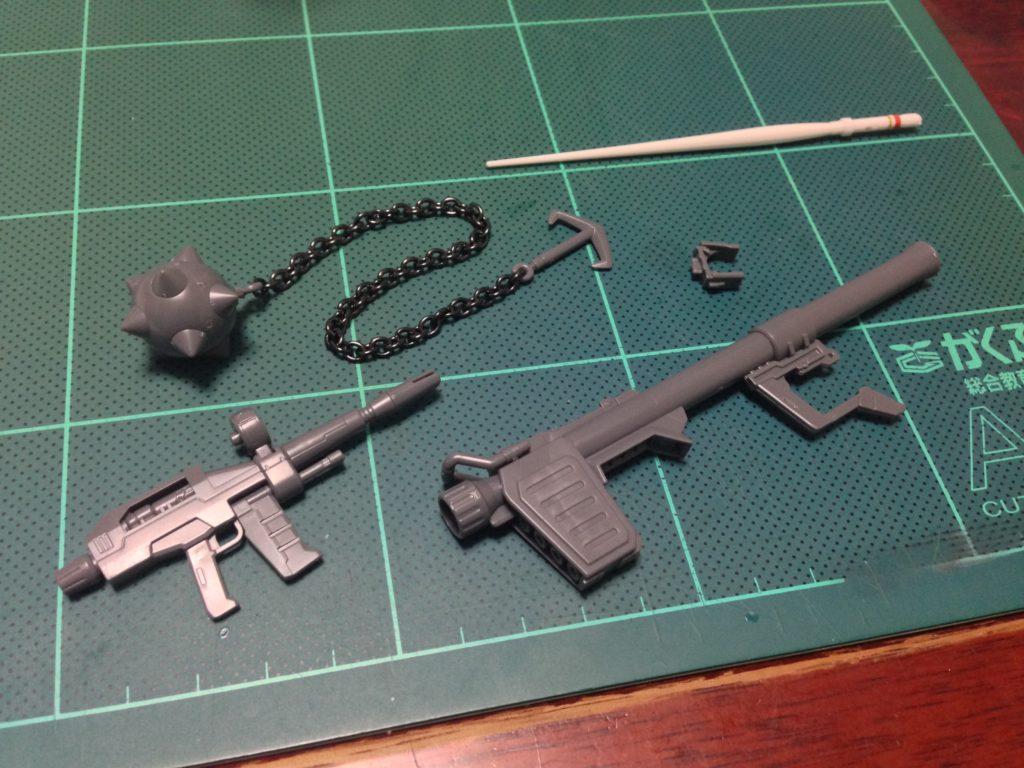 HG 1/144 RX-78-2 GUNDAM Ver. SG50 セット内容