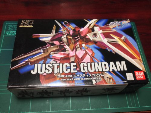 HG 1/144 ZGMF-X09A ジャスティスガンダム [Justice Gundam]