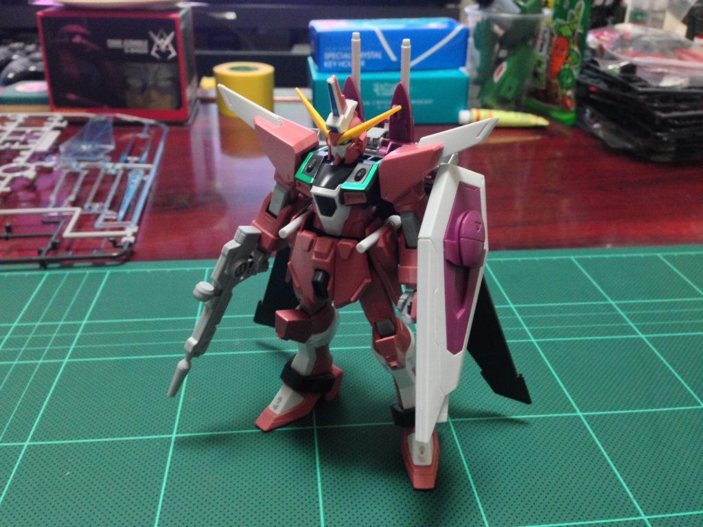 HG 1/144 ZGMF-X19A インフィニットジャスティスガンダム [Infinite Justice Gundam] 正面