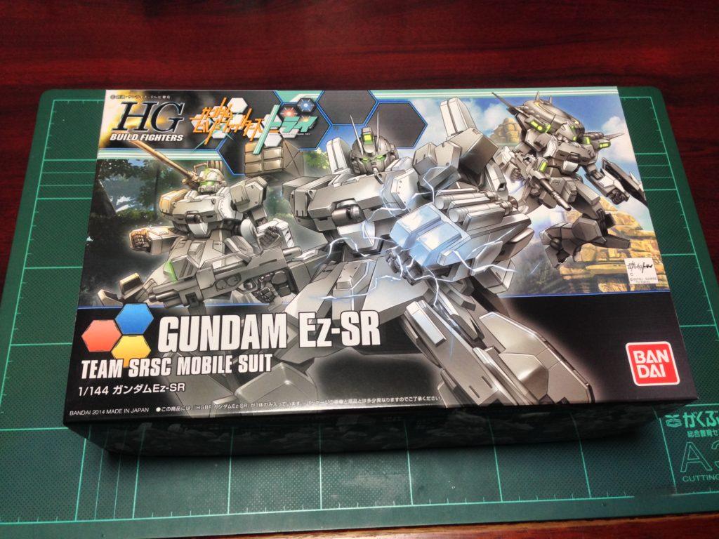 HGBF 1/144 RX-79[G]Ez-SR1 ガンダムEz-SR [Gundam Ez-SR] パッケージ