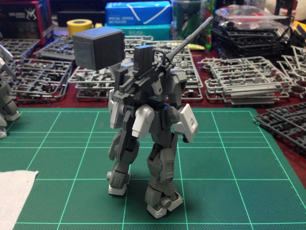 HGBF 1/144 RX-79[G]Ez-SR1 ガンダムEz-SR [Gundam Ez-SR] 背面
