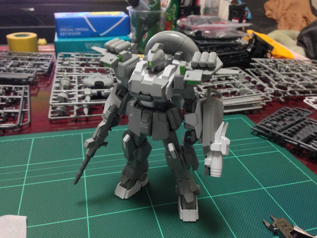 HGBF 1/144 RX-79[G]Ez-SR1 ガンダムEz-SR [Gundam Ez-SR] 正面