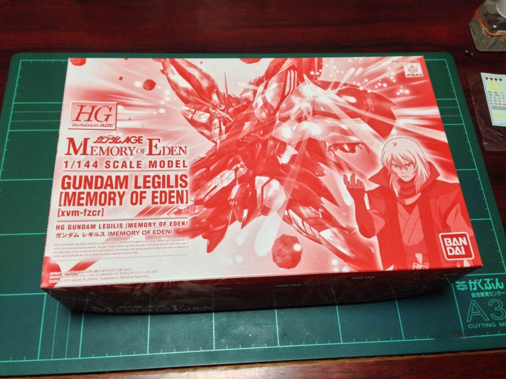HG 1/144 xvm-fzc ガンダム レギルス [MEMORY OF EDEN] [Gundam Legilis (Memory of Eden Ver.)] パッケージ