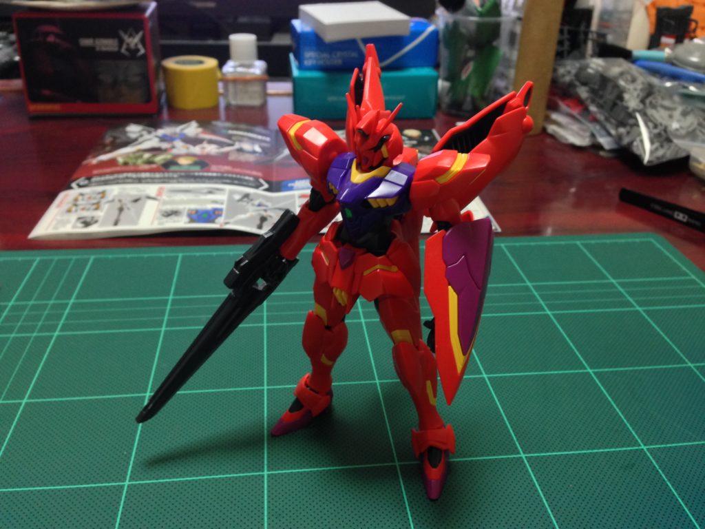 HG 1/144 xvm-fzc ガンダム レギルス [MEMORY OF EDEN] [Gundam Legilis (Memory of Eden Ver.)] 正面