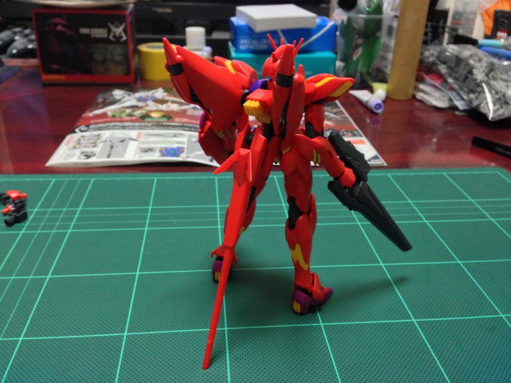 HG 1/144 xvm-fzc ガンダム レギルス [MEMORY OF EDEN] [Gundam Legilis (Memory of Eden Ver.)] 背面