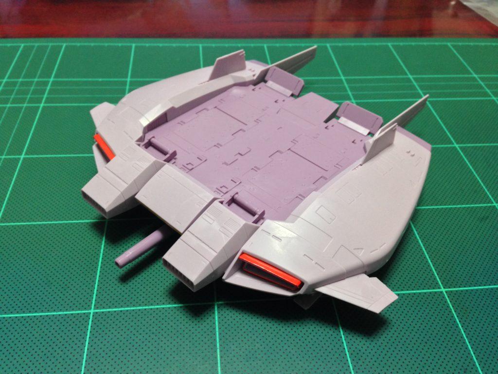 HGUC 1/144 ベースジャバー(ゼータガンダムVer.) 正面
