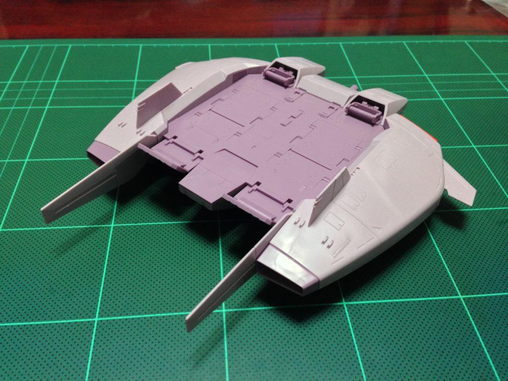HGUC 1/144 ベースジャバー(ゼータガンダムVer.) 背面