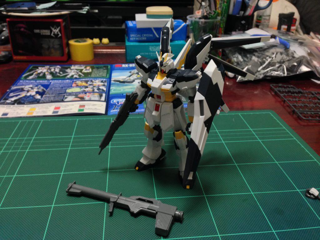 HG 1/144 RX-93-ν2 Hi-νガンダム GPBカラー [Hi-ν Gundam GPB color] 正面