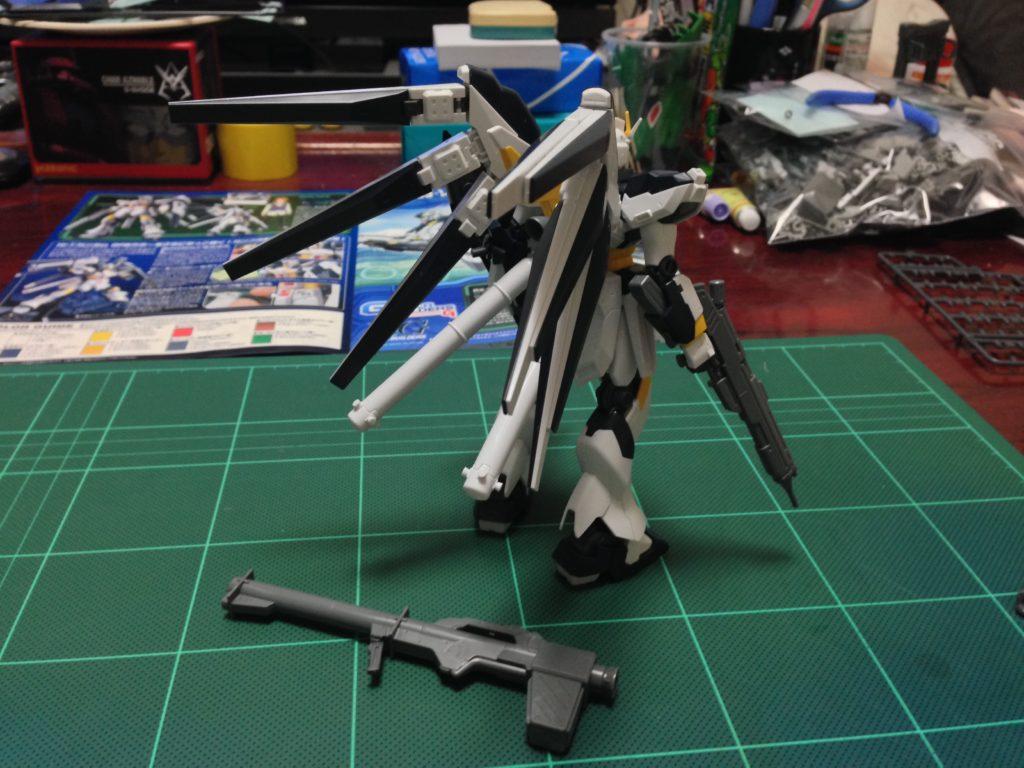 HG 1/144 RX-93-ν2 Hi-νガンダム GPBカラー [Hi-ν Gundam GPB color] 背面