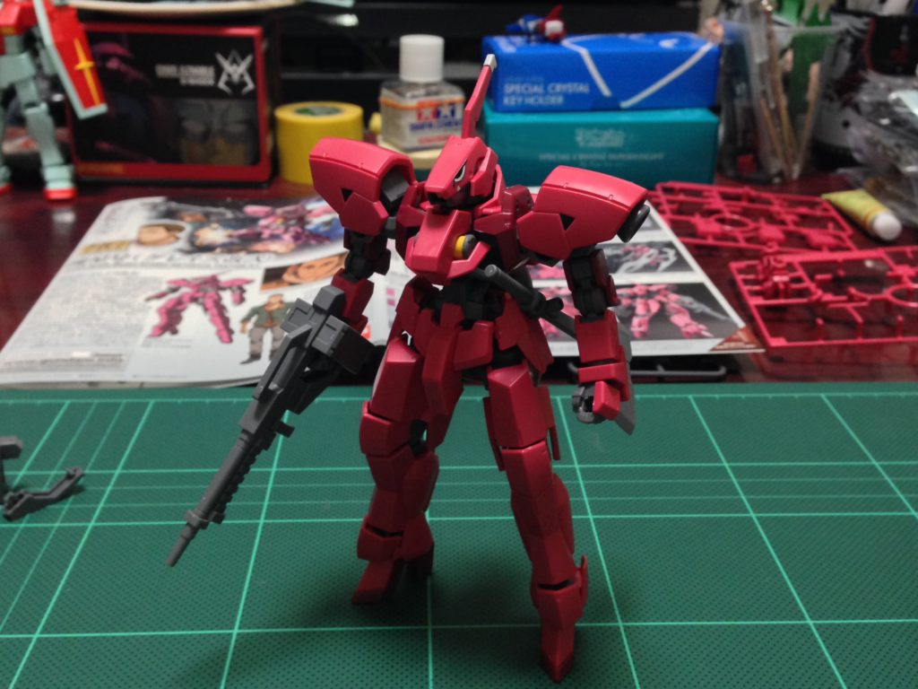 HG 1/144 EB-06/tc2 流星号(グレイズ改弐) 正面
