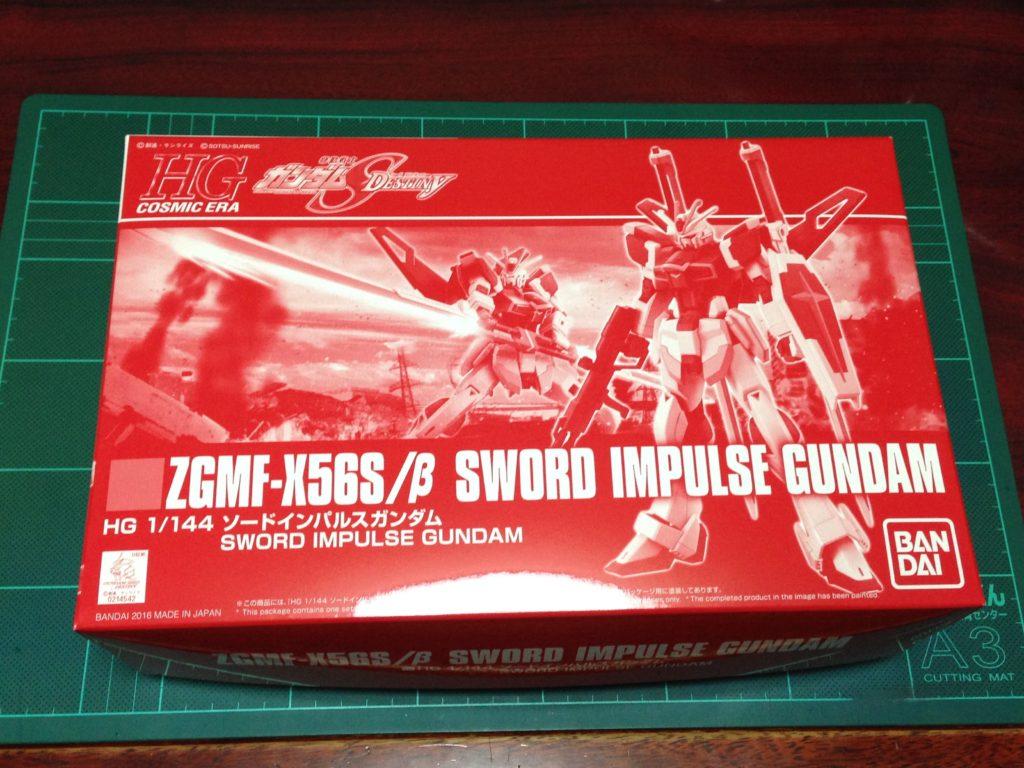 HGCE 1/144 ZGMF-X56S/β ソードインパルスガンダム [SWORD IMPULSE GUNDAM] パッケージ