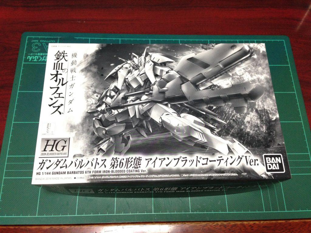 HG 1/144 ガンダムバルバトス 第6形態 アイアンブラッドコーティングVer. パッケージ