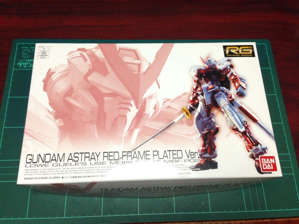 RG 1/144 MBF-P02 ガンダムアストレイレッドフレーム メッキVer. [GUNDAM ASTRAY RED FRAME PLATED Ver.] パッケージ