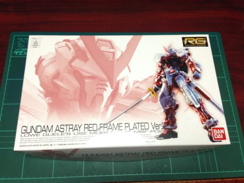 RG 1/144 MBF-P02 ガンダムアストレイレッドフレーム メッキVer. [GUNDAM ASTRAY RED FRAME PLATED Ver.]