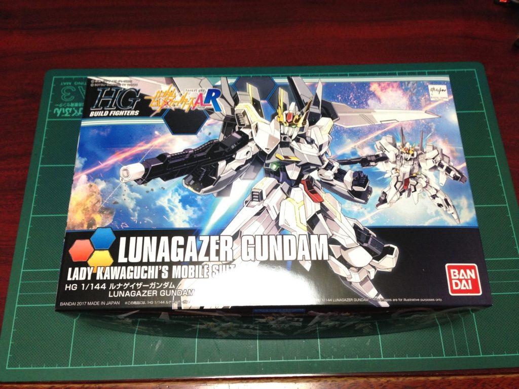HGBF 1/144 GSX-40100 ルナゲイザーガンダム [Lunagazer Gundam] パッケージ