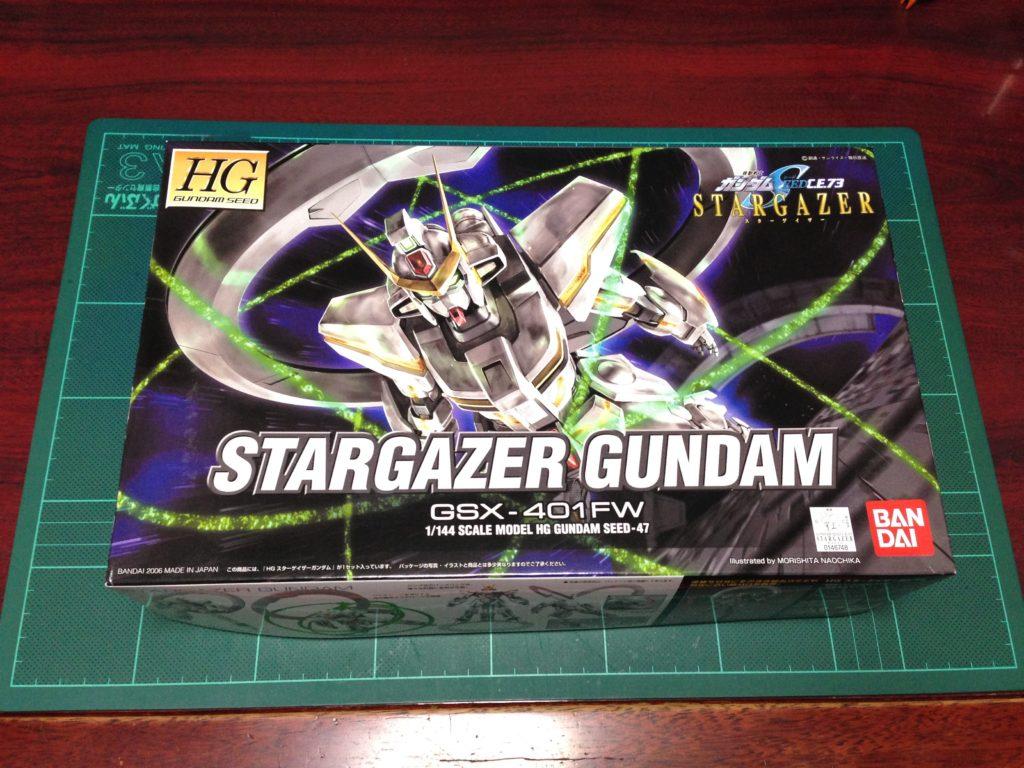 HG 1/144 GSX-401FW スターゲイザーガンダム [Stargazer Gundam] パッケージ
