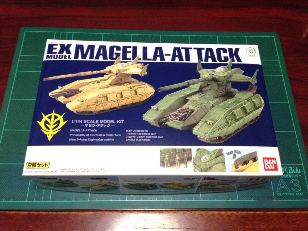 EX 1/144 マゼラ・アタック(2種セット) [Magella Attack] パッケージ