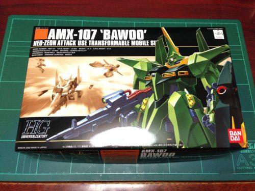 HGUC 1/144 AMX-107 バウ(量産型)[Bawoo (Mass Production colors)]