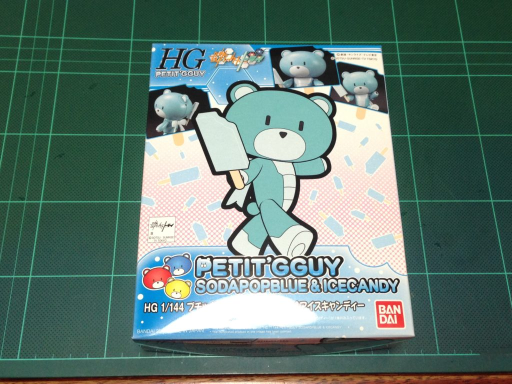 HGPG 1/144 プチッガイ ソーダポップブルー&アイスキャンディ [Petit'gguy Sodapop Blue and Ice Candy] パッケージ
