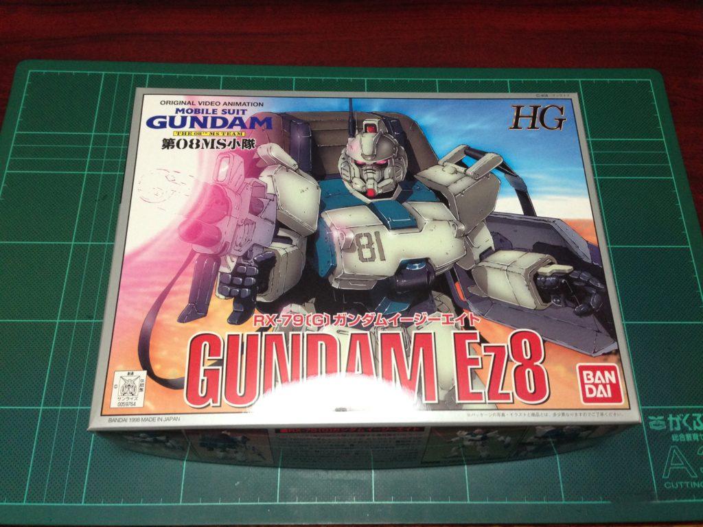 HG 1/144 RX-79[G] ガンダムEz8(イージーエイト) [Gundam Ez8] パッケージ