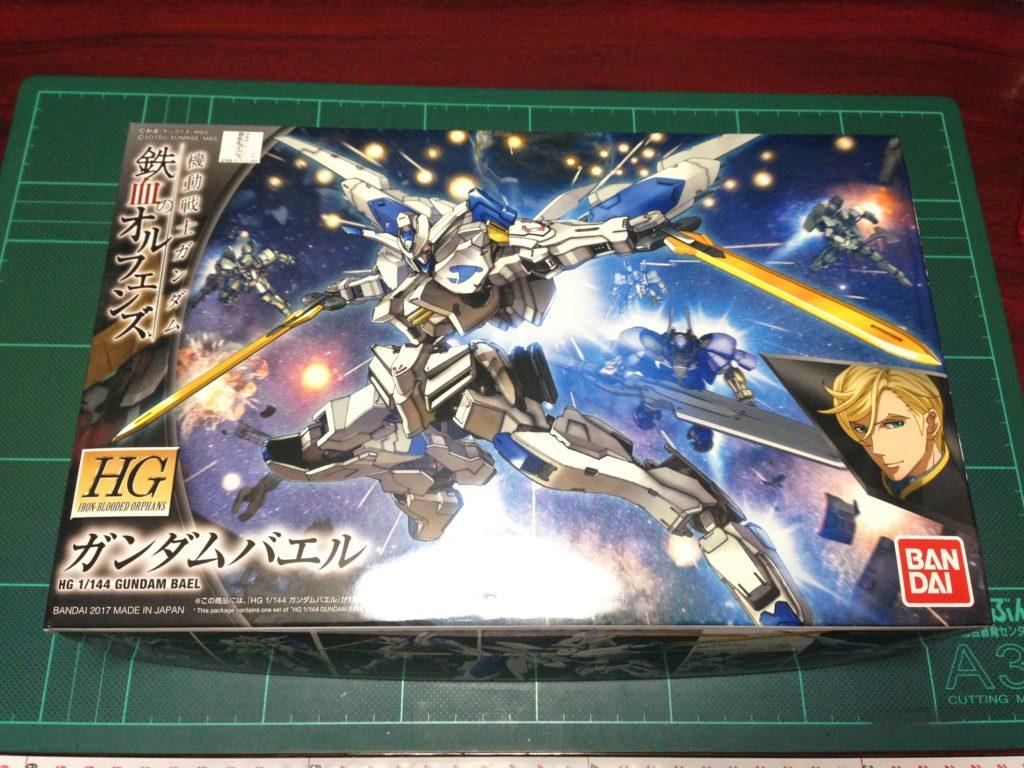 HG 1/144 ASW-G-01 ガンダムバエル パッケージ