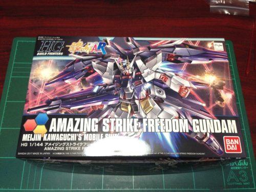 HGBF 1/144 ZGMF-X10A-A アメイジングストライクフリーダムガンダム [Amazing Strike Freedom Gundam]