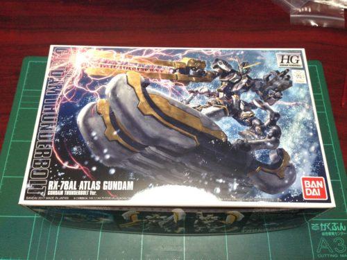 HG 1/144 RX-78AL アトラスガンダム(GUNDAM THUNDERBOLT Ver.) [Atlas Gundam (Gundam Thunderbolt ONA Ver.)]