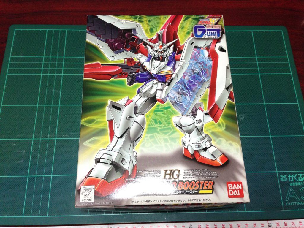 HG 1/144 OZX-GU01LOB ガンダムエルオーブースター [Gundam L.O. Booster] パッケージ