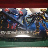 RG 1/144 MBF-P01-Re2 ガンダムアストレイゴールドフレーム天ミナ [Gundam Astray Gold Frame Amatsu Mina]
