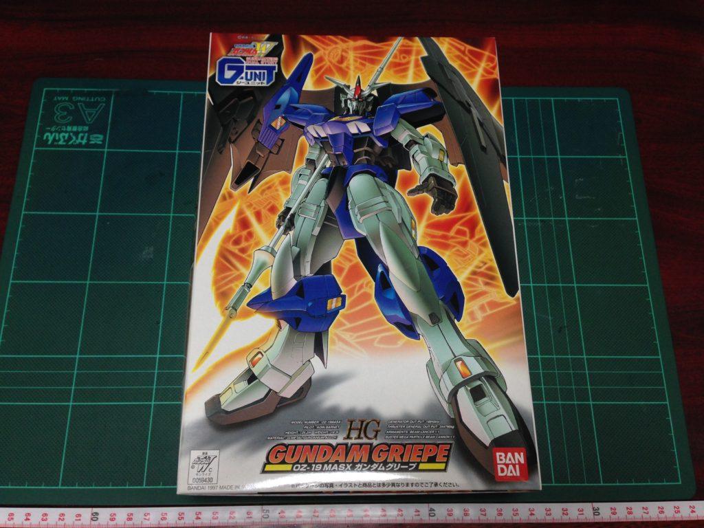 HG 1/144 OZ-19MASX ガンダムグリープ [Gundam Griepe] パッケージ