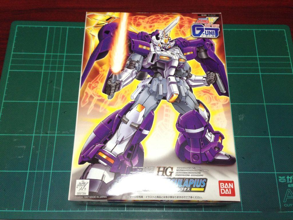 HG 1/144 OZ-10VMSX ガンダムアスクレプオス [Gundam Aesculapius] パッケージ