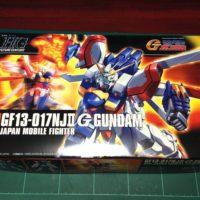 HGFC 1/144 GF13-017NJII ゴッドガンダム