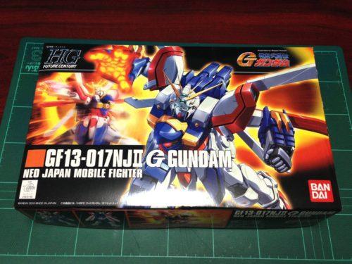 HGFC 1/144 GF13-017NJII ゴッドガンダム [G Gundam]