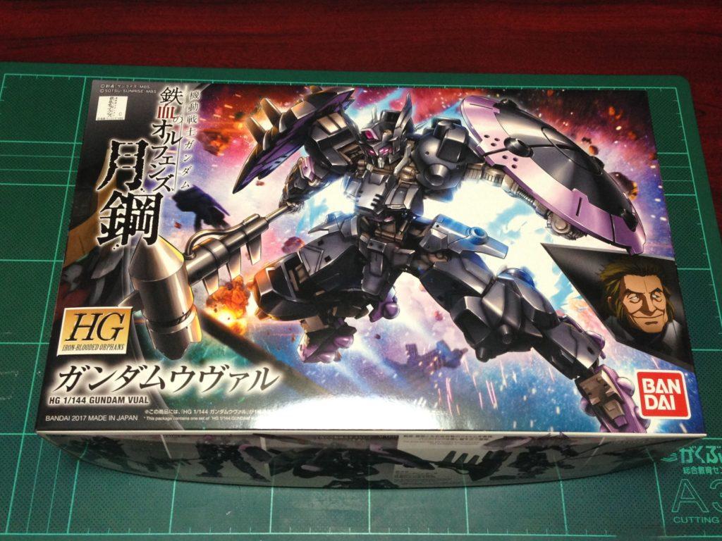 HG 1/144 ASW-G-47 ガンダムウヴァル [Gundam Vual] パッケージ
