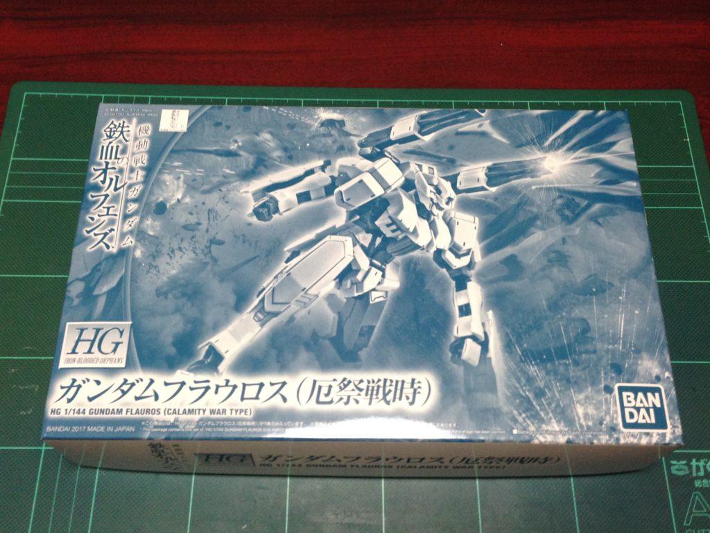 HG 1/144 ASW-G-64 ガンダムフラウロス(厄祭戦時) [Gundam Flauros (Calamity War Type)] パッケージ