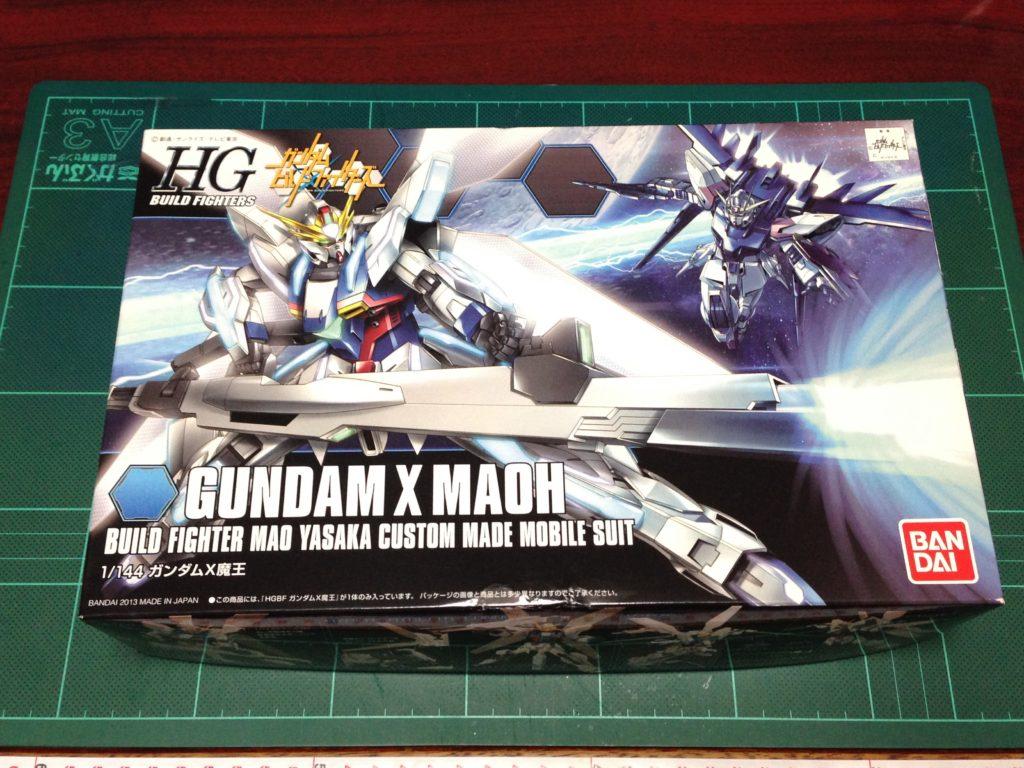 HGBF 1/144 GX-9999 ガンダムX魔王 [Gundam X Maoh] パッケージ