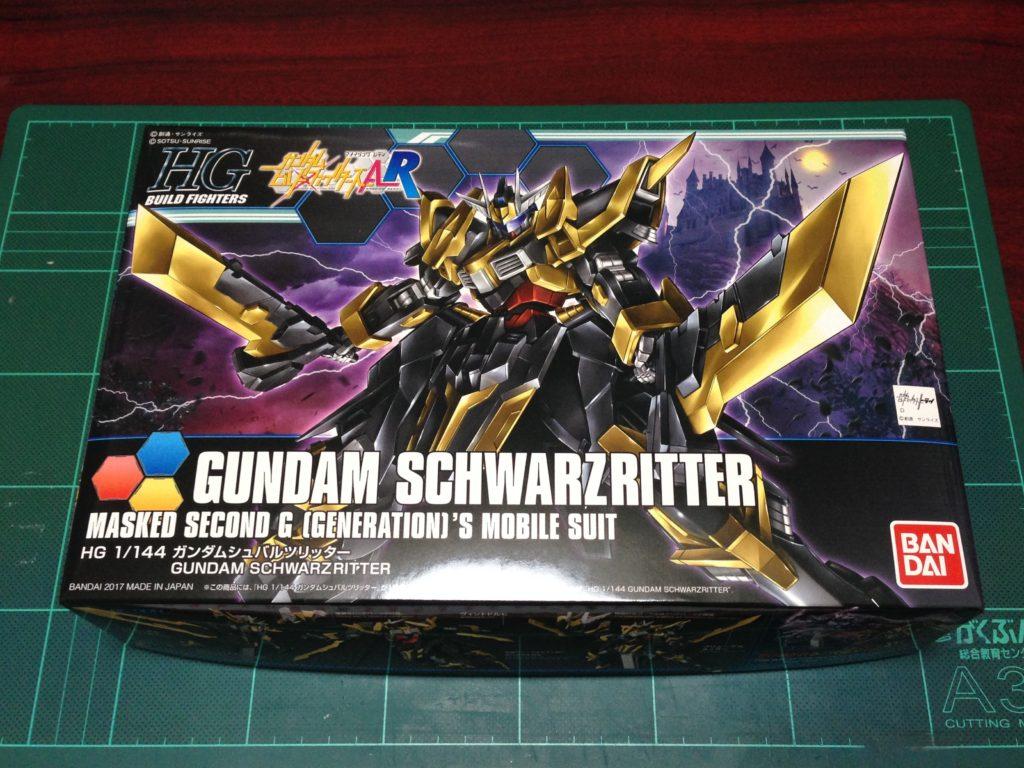 HGBF 1/144 NK-13S ガンダムシュバルツリッター [Gundam Schwarzritter] パッケージ