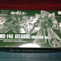 HGUC 1/144 MS-14A ゲルググ(ユニコーンVer.) [Gelgoog (Unicorn Ver.)]