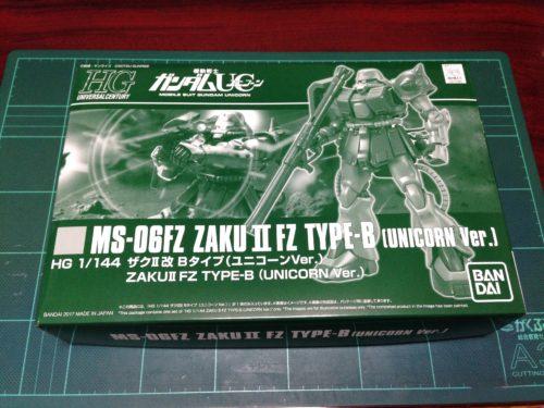 HGUC 1/144 MS-06FZ ザクII改 Bタイプ(ユニコーンVer.) [Zaku II FZ B Type (Unicorn Ver.)]