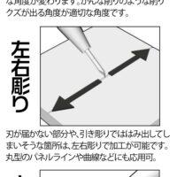 HIQPARTS(ハイキューパーツ) ラインスクライバーCS 0.08mm(1本入) [LSCS-008]