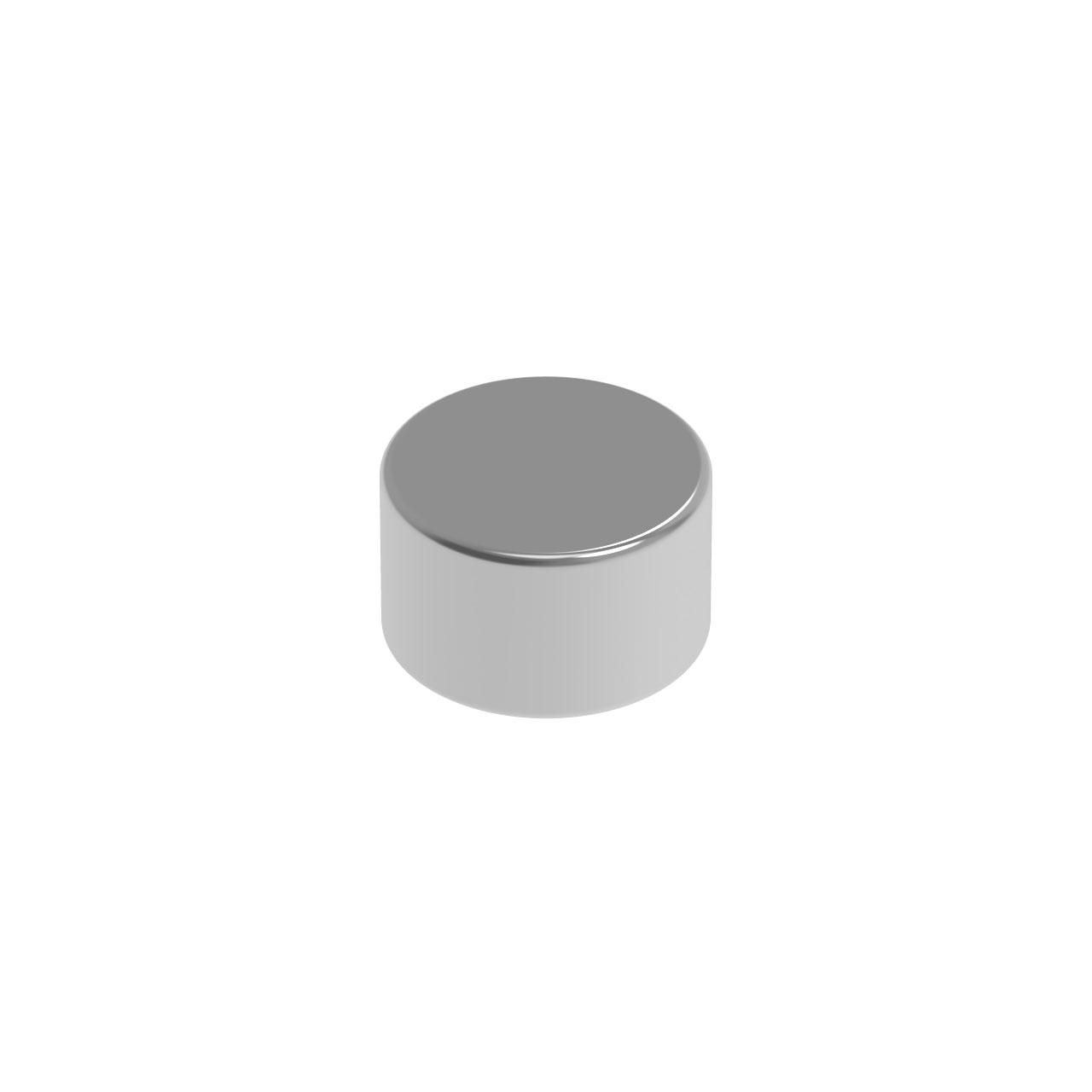 HIQPARTS(ハイキューパーツ) ネオジム磁石 N52 丸形 直径2.5mm x 高さ1.5mm(10個入) [MGN2515] 4582370700637