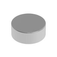 HIQPARTS(ハイキューパーツ) ネオジム磁石 N52 丸形 直径5mm x 高さ2mm(10個入) [MGN5020] 4582370700651 公式画像1